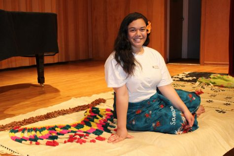 Senior shares cultural wealth through dance