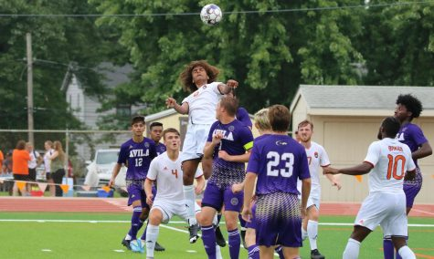 Men's soccer vs Avila University