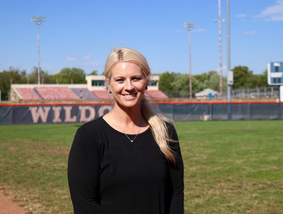 Dana+Goss+has+taken+the+role+of+Baker+University%27s+head+softball+coach+for+the+2019-2020+school+year.+Goss+came+from+Avila+University.+