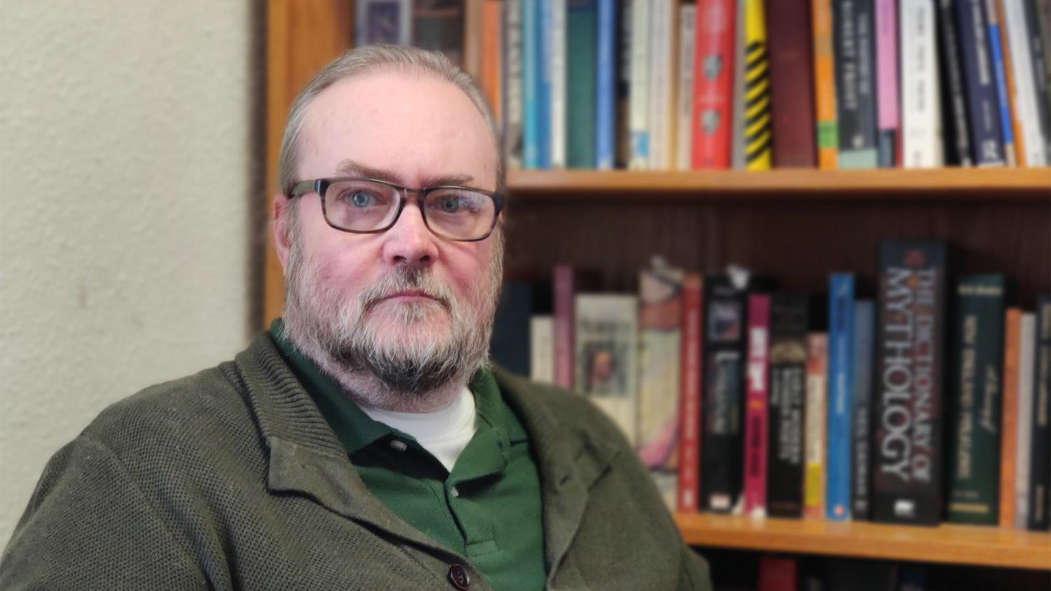 Professor of English Dr. Rob Howard teaches several unique classes based on his favorite books. Those classes include in-depth analysis on J.R.R. Tolkein's