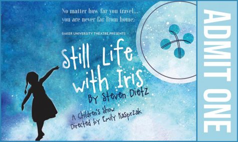 Theatre performs 'Still Life with Iris'
