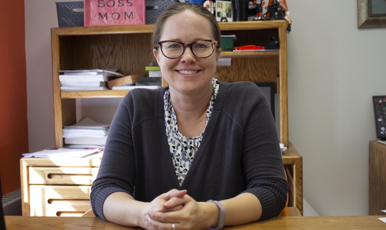 Associate Professor of Psychology Dr. Sara Crump  teaches PY111, or general psychology.