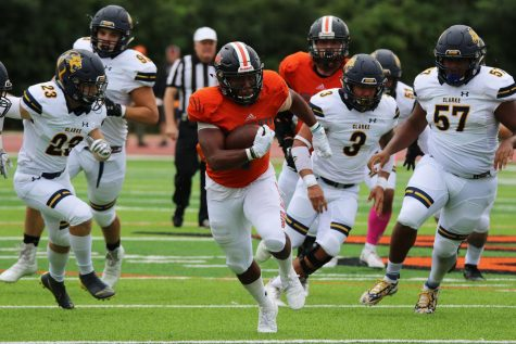 Football Homecoming v. Clarke University
