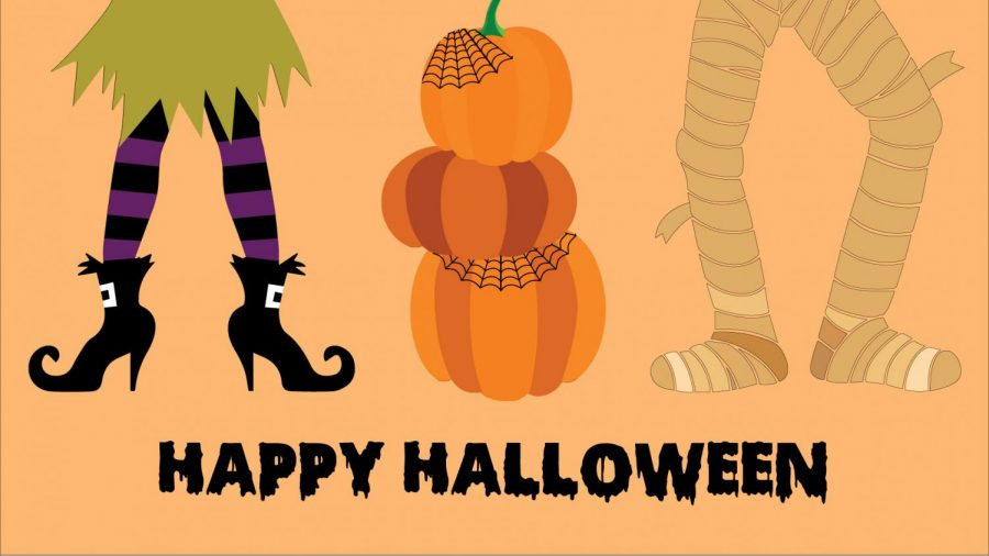 Halloween costume video