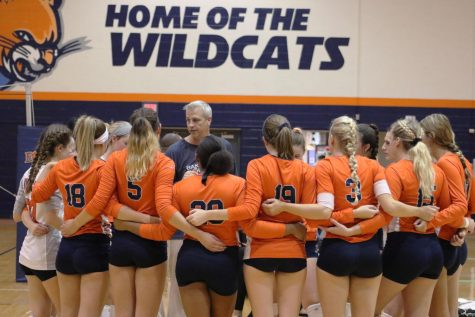 Volleyball team earns first Heart win