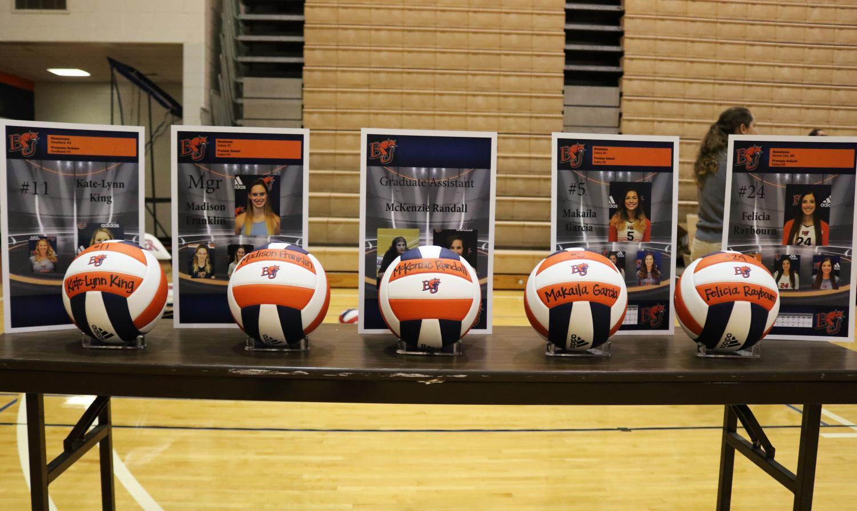 Volleyball drops series 0-3 to Evangel University on Senior night