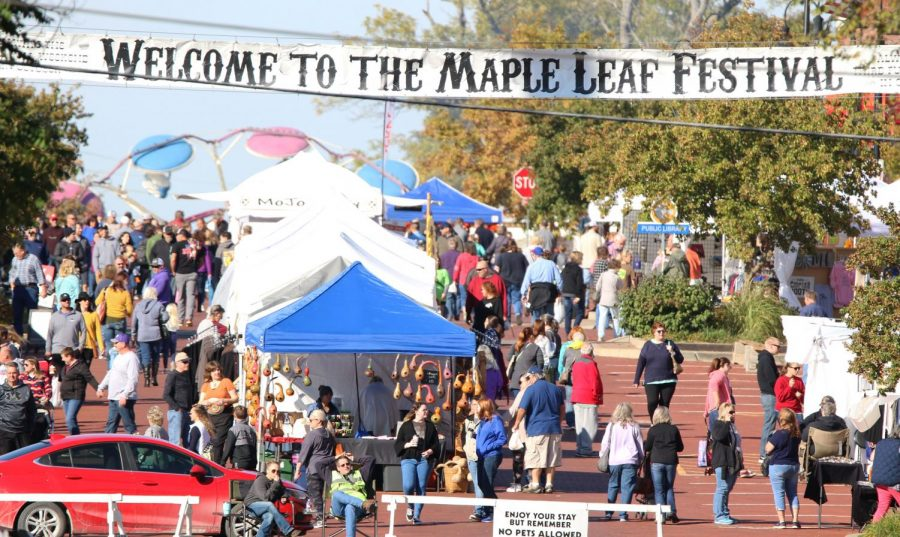 The+Maple+Leaf+Festival+occurs+every+third+full+weekend+in+October.+It+consists+of+vendors%2C+petting+zoo%2C+parade+and+tons+of+food.+The+festival+founders+in+1958+were+C.R.+Whitley%2C+Ivan+Boyd%2C+and+Charles+Doudna.%0A