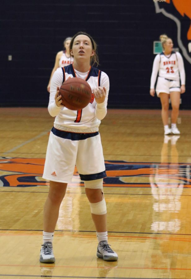 Sophomore Chassidy Weathers converts 5-6 free throw attempts against the Falcons. The Wildcats continue its win streak and move to 3-0.