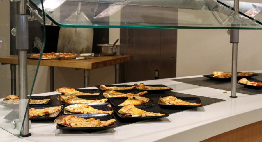 With the Norovirus outbreak on campus, the Baker cafeteria has taken precaution by individualizing meals and utensils in hope of avoiding further contamination among students.