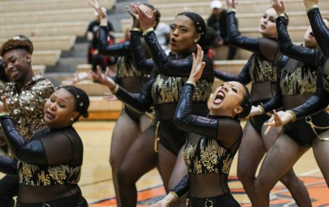The Baker Dance Team shows their passion in their upbeat, modern dances. Baker