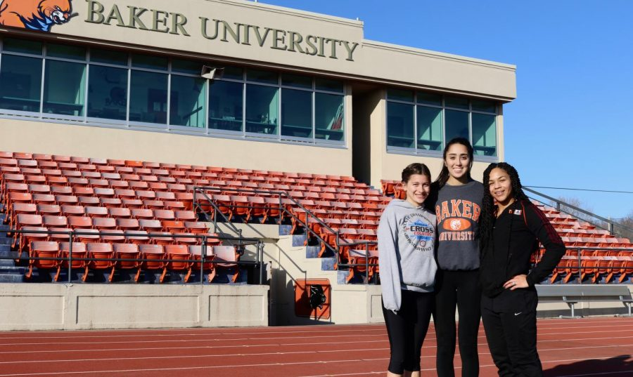 Women's Track and Field athletes qualify for Nationals