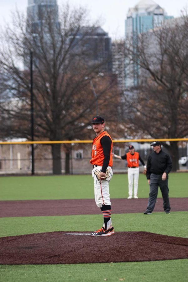 Sophomore Hunter Gudde started game one against conference opponent Culver-Stockton. Gudde started the game with two shut out innings and pitched a total of six innings on the day.