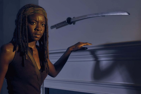 Danai Gurira as Michonne, The Walking Dead, Season 6, Gallery, Photo Credit: Frank Ockenfels 3/AMC