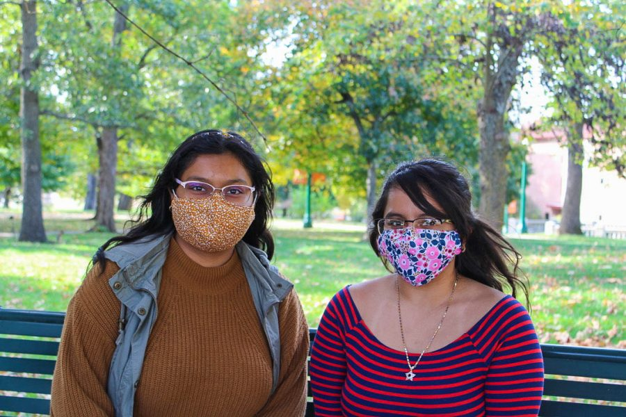 Sophomores Arleth Ramos-Valles and Yurisa Zepeda are both founders of Molcajete, Baker's Hispanic and Latinx club.