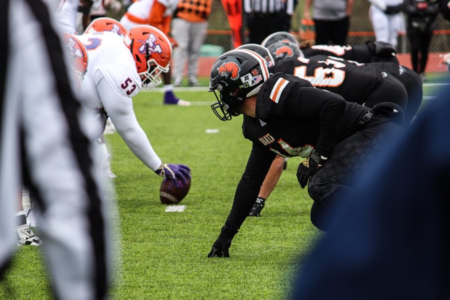 Baker Football goes head to head with Missouri Valley College