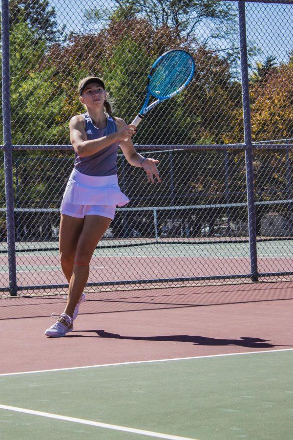 Kayelee Smith returns to Womens Tennis as the only Senior