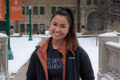 Senior Jasmine White reflects on her college experiences