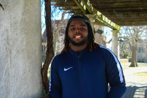 Senior Terrel Simpson (a.k.a Ysl Rel) and his growing music career