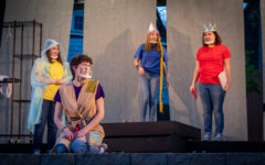 Sophomore Reagan Baily, Sophomore Sami Aceto, Freshman Olivia Harms and Senior Morgan Masters all took part in the performance of The