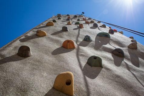 Student Activities Council arranges rock wall event