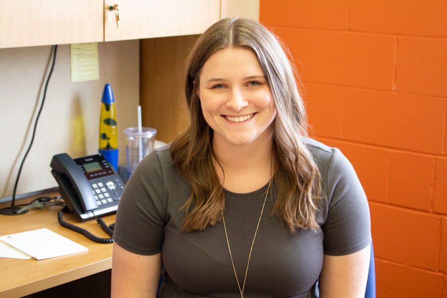 Kaitlyn Powell started as Baker Universitys new Assistant Director of Student Activities on May 3.