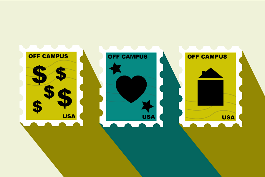 An increasing number of students have reported that they prefer to live off campus, for a variety of reasons including ____ , ___ & _____.