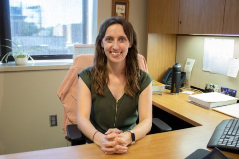 Dr. Jackie Dillon began teaching in the science department at Baker University in the fall of 2021.