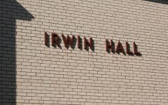 The common spaces and suites of Irwin Hall were renovated over the summer, receiving new carpet, paint, and furniture.