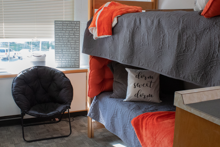 Each room was renovated to create a more modern feel. The Director of Residence Life, Nicholas Goodman, said Students appreciate the new amenities and continued modernization of their home, regarding reactions to the updates.