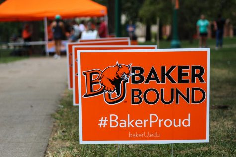 On Sept. 24, admissions held Baker Bash for future students to learn about life on the Baker campus.