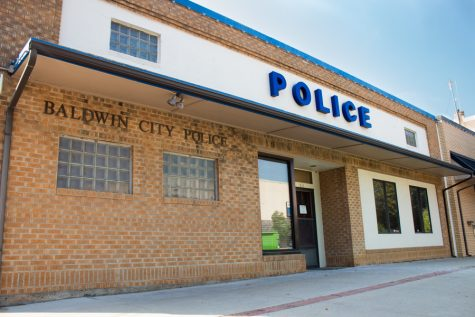 The old Baldwin City police station is being transformed into a local sports bar for the residents and students to enjoy.