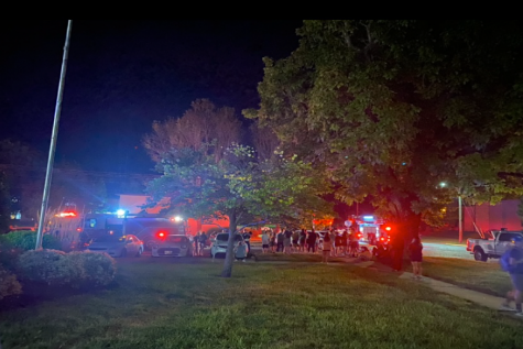 Irwin Hall residents were evacuated late Monday night as the Baldwin City volunteer Fire Department responded to the call. A seizure was reported around the time and location of the evacuation. It is unknown whether or not the two incidents are related.