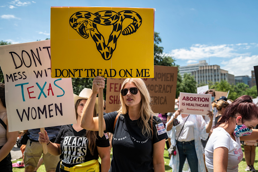 Protests arose in the state of Texas after The Heartbeat Act was set in place on Sept. 1.