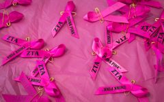 Zeta Tau Alpha raises money for breast cancer on Oct. 18 - Oct. 21 by hosting various events on campus.