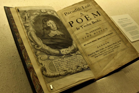 An edition of Paradise Lost: A Poem in Twelve Books. This novel contains ten books with over ten thousand lines of verse, written by John Milton. The first version of the novel was published in 1667.