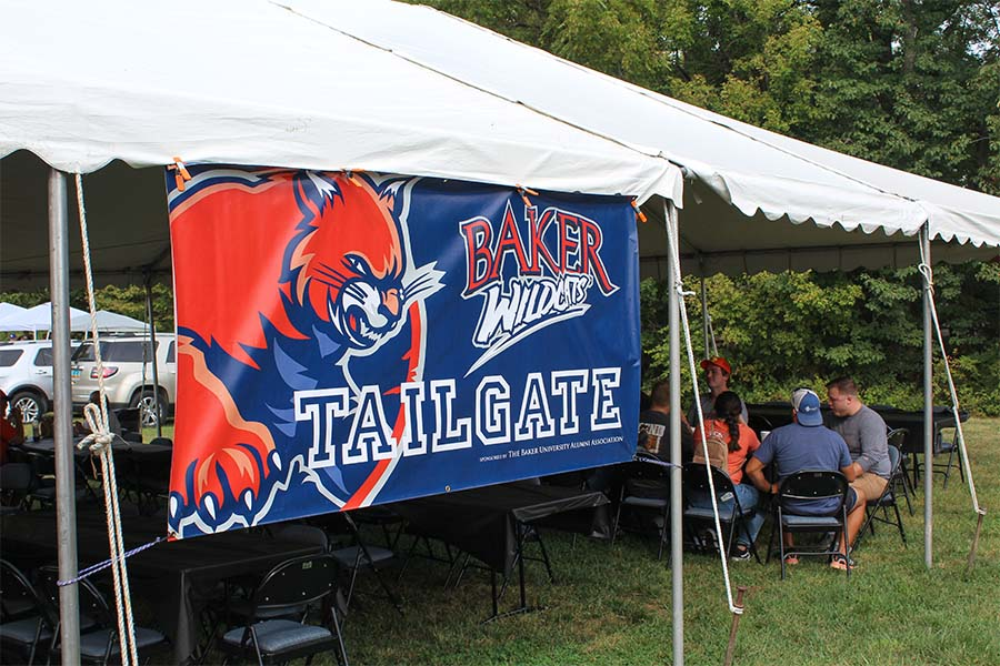 On Saturday Oct. 2, a tailgate was held before the Homecoming football game against the Graceland Yellow Jackets.