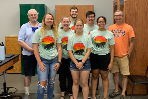 Over the summer several students participated in an internship at the Baker Wetlands. Lasting eight weeks, the students conducted research on tardigrades, the first time in the state of Kansas.